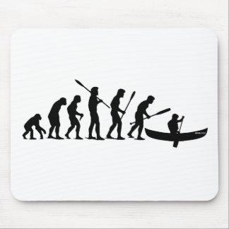 Paddling Evolution (OC1) Mouse Pad