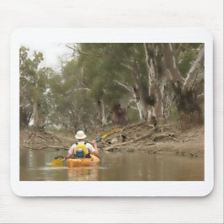 paddling into a storybook mousemat