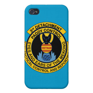 Paddy Control 3rd Detachment 619th Tactical iPhone 4 Case
