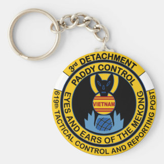 Paddy Control 3rd Detachment 619th Tactical Keychain
