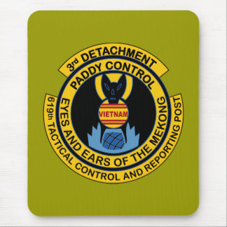 Paddy Control 3rd Detachment 619th Tactical Mouse Pad