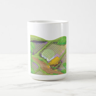 Paddy field coffee mug