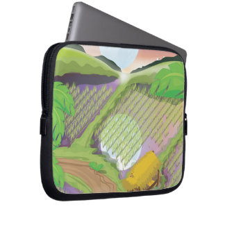 Paddy field computer sleeves