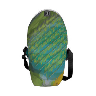 Paddy field courier bag