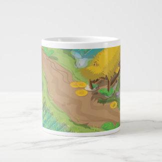 Paddy field large coffee mug