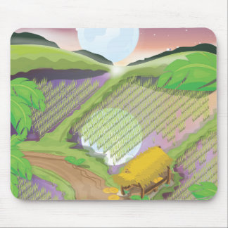 Paddy field mouse pad