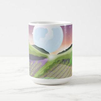 Paddy field coffee mugs