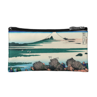 Paddy fields in Ono, Suruga Province Cosmetic Bag