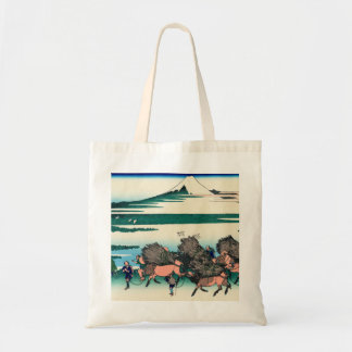 Paddy fields in Ono, Suruga Province Canvas Bag