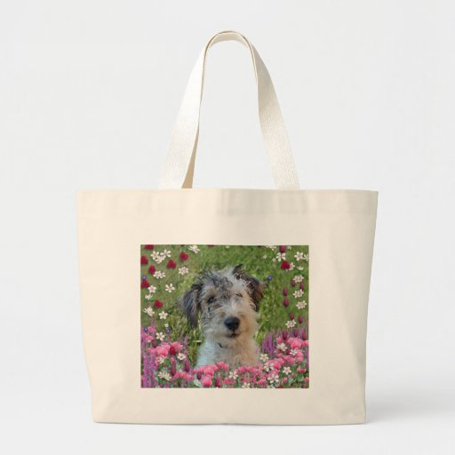 Paddy in Flowers Bag