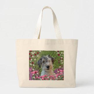 Paddy in Flowers Jumbo Tote Bag