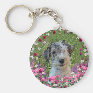 Paddy in Flowers Key Chains
