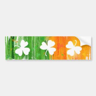 Paddy Ink Lucky Clovers bumper sticker