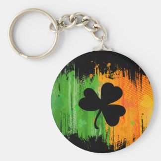 Paddy Ink Lucky Clovers dark keychain