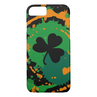 Paddy Ink Lucky Dark Clover iPhone 7 Case