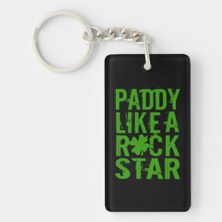 Paddy Like a Rock Star II Keychain