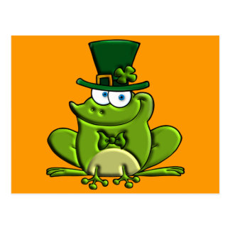 Paddy O'Frog Postcards