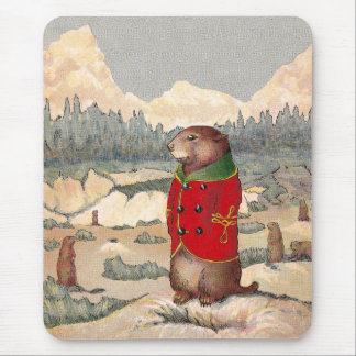 Paddy Paws in Prairie Dog Town Mouse Pad