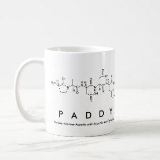 Paddy peptide name mug