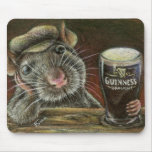 Paddy the rat mousepads