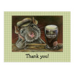 Paddy the rat post cards