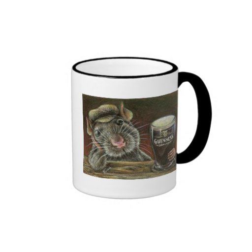 Paddy the rat ringer coffee mug