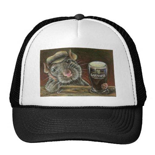 Paddy the rat trucker hat