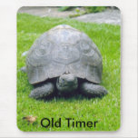 Paddy the tortoise., Old Timer Mouse Pad