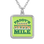 Paddy's GREEN MILE from The Beer Shop Custom Necklace