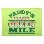 Paddy's GREEN MILE from The Beer Shop Placemats