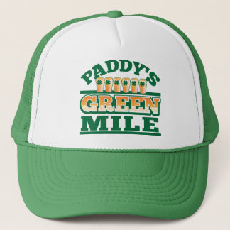 Paddy's GREEN MILE from The Beer Shop Trucker Hat