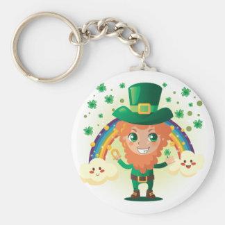Paddy's Leprechaun Keychain