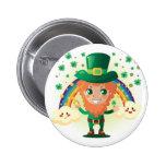 Paddy's Leprechaun Pins