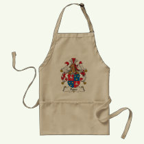 Pader Family Crest Apron