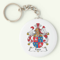 Pader Family Crest Keychain