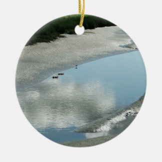 Padilla Bay Trail Ceramic Ornament