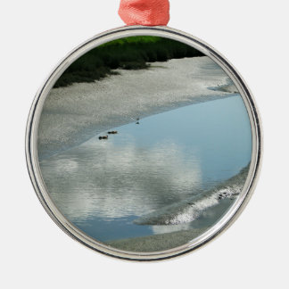 Padilla Bay Trail Metal Ornament