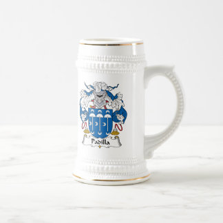 Padilla Family Crest Beer Stein