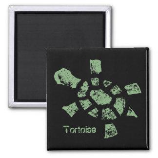 Padloaper Tortoise Square Magnet