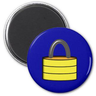 Padlock lock PAD LOCK 2 Inch Round Magnet