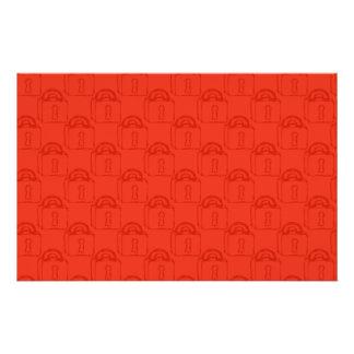 Padlock Pattern. Top Secret or Security. Full Color Flyer