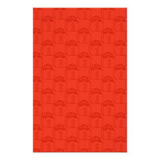 Padlock Pattern. Top Secret or Security. Flyer Design