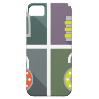 Padlock unlocked locked iPhone SE/5/5s case
