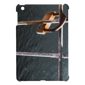 Padlock Web iPad Mini Cover