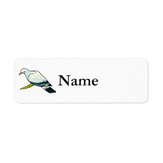 Padma Pigeon.png Custom Return Address Label