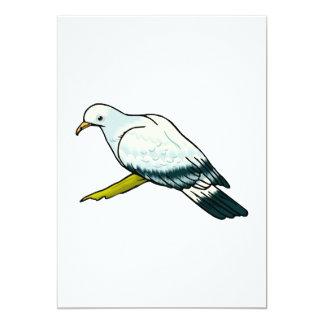 """Padma Pigeon.png Invitación 5"""" X 7"""""""