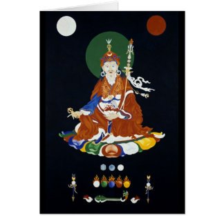 Padmasambhava [card] greeting card