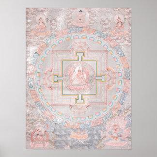 Padmasambhava Mandala Poster