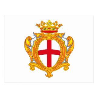 Padova Coat of Arms Postcard