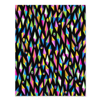 padrão abestrato geometrico card